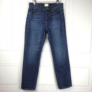 J. Crew Jeans - J.Crew Vintage Crop Jean in Leopold Dark Wash 26